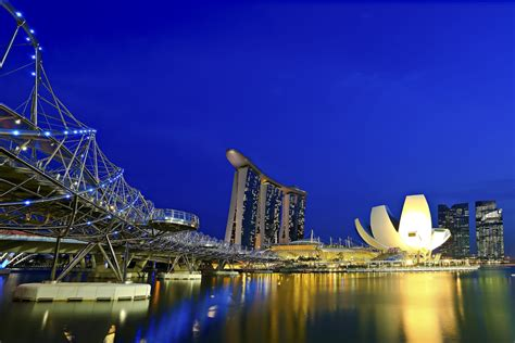 Marina Bay Singapore Wallpaper Wallpapersafari