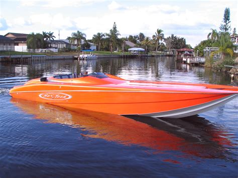Orange Boat by 38 Donzi 350 Yamahas Page 8 The Hull