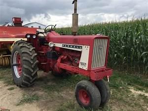 Lot Farmall 706 Tractor  Diesel  3pt  Pto  No Top Link  2