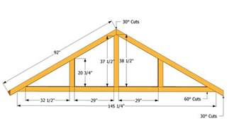 10x14 Shed Plans With Loft by How To Build A Roof For A 12x16 Shed Howtospecialist