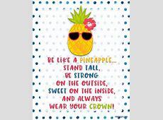 July 2017 Calendar is all about what? Pineapple! inkhappi
