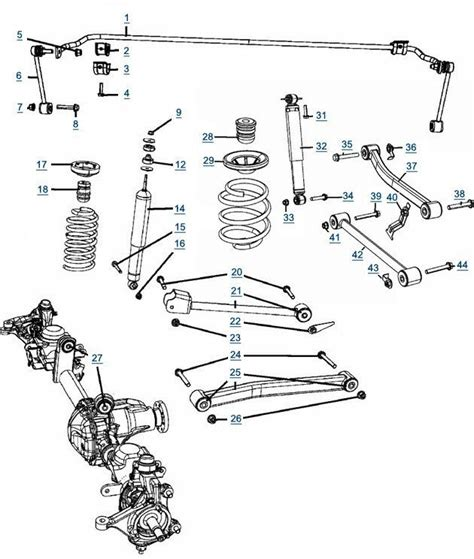 2010 Jeep Wrangler Unlimited Sport Wiring Diagram by Jeep Wrangler Jk Suspension 2007 Front Suspensions Parts