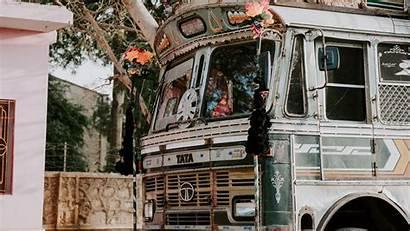 Decoration Bus Jaipur Festival India 4k Uhd