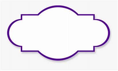 Simple Clipart Shapes Frames Clip Label Border