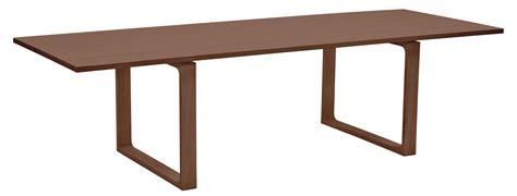 fritz hansen tisch table essay 265 x 100 cm noyer fritz hansen