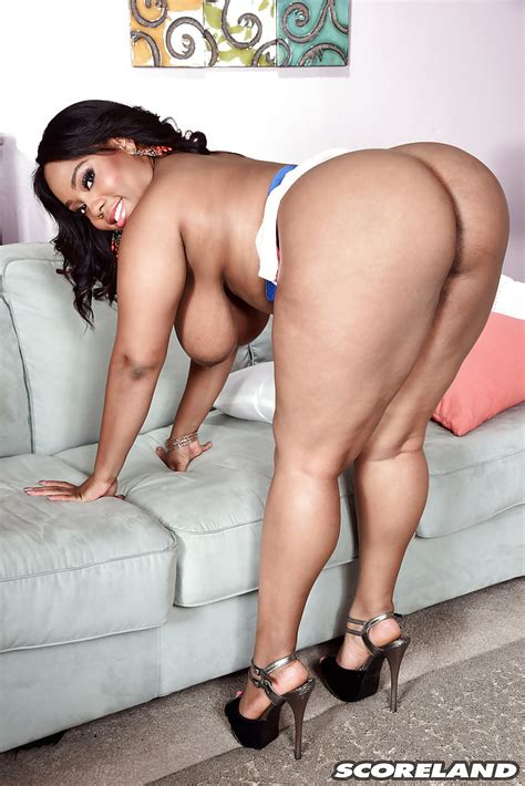 black bbw ms yummy unveiling huge boobs and big booty wearing high heels