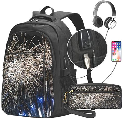 amazoncom blooming fireworks unisex durable business