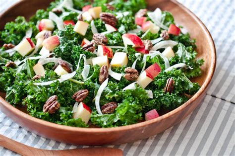 Kale Salad with Apples, Fennel, and Candied Pecans ...