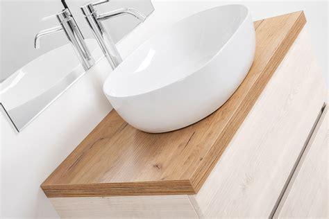 mobile bagno con specchio mobile bagno sospeso con specchio per lavabo d appoggio 80
