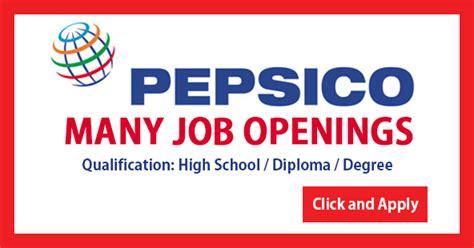 Latest Hiring At Pepsico Dubai-2018