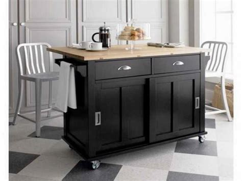walmart kitchen island with stools ideas for build rolling kitchen island cabinets beds 8901
