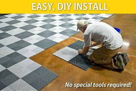 Garage Floors   Flooring Tiles   Swisstrax Canada