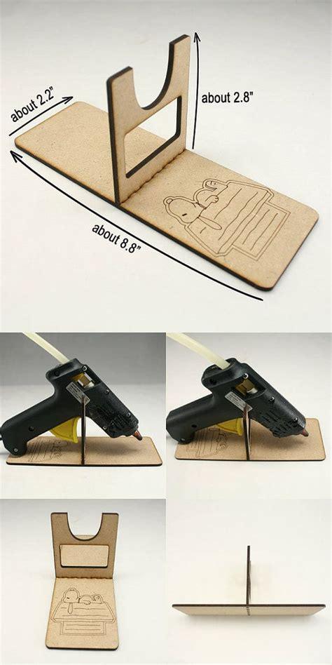 hot glue gun holder woodworking projects plans
