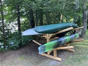 4, Sup, And, Kayak, Storage, Rack