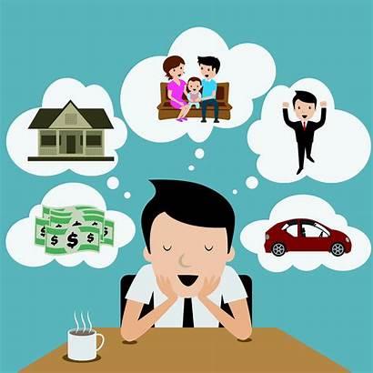 Goals Term Dream Clipart Short Businessman Bigstock