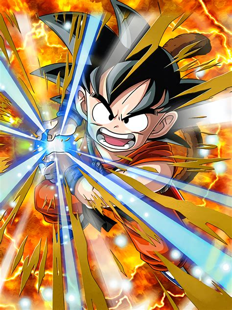 challenger innocent son goku enfant wiki