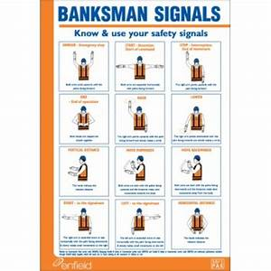 Banksman Signals Poster