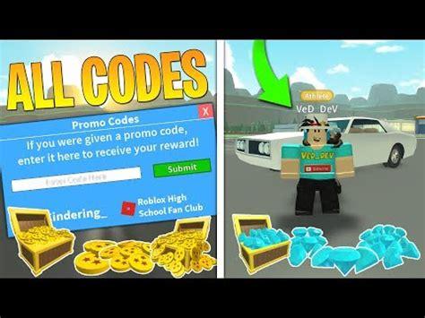 promo codesfor roblox high school