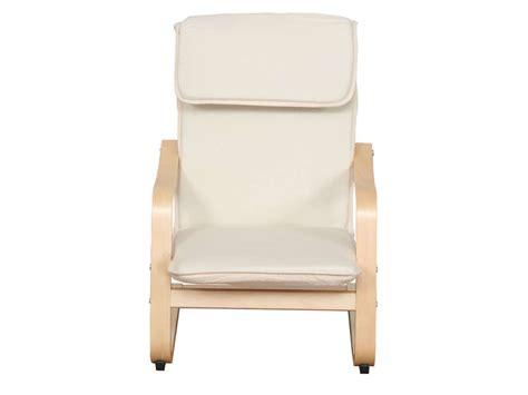 chaise avec accoudoir conforama fauteuil enfant benji 2 coloris écru vente de chaise et