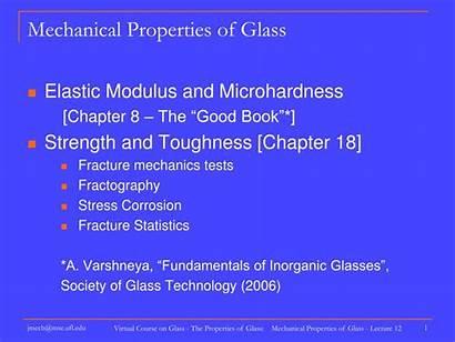 Glass Properties Mechanical Presentation Ppt Powerpoint Skip