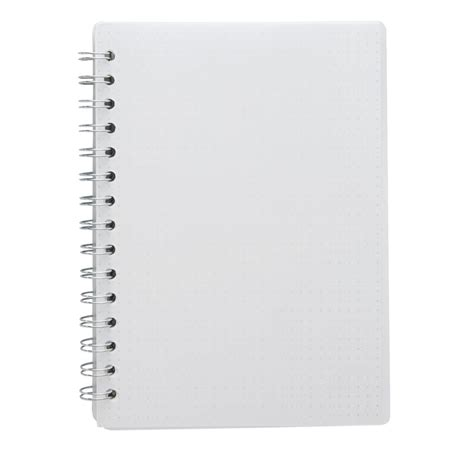 X A5 PP Spiral Notebook 180 Page White
