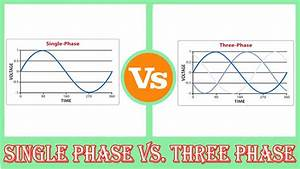 Single Phase Vs Three Phase