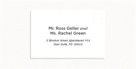 Wedding Invitation Etiquette How To Address Wedding