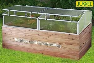 Hochbeet Aufsatz Selber Bauen : juwel thermohaus f r hochbeet abdeckung hochbeet 2x1 m ~ Frokenaadalensverden.com Haus und Dekorationen