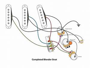 Two Pickup Blend Wiring