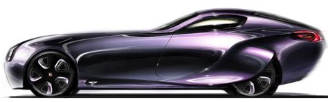 Bentley 2030 Concept Design Sketch  Car Body Design
