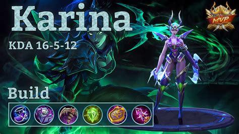 Karina Mvp, Quadra Kill With New Build