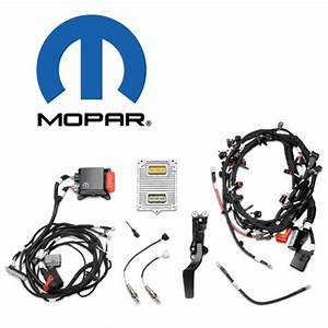 5 7l Hemi Crate Engine Wiring Harness And Management By Mopar