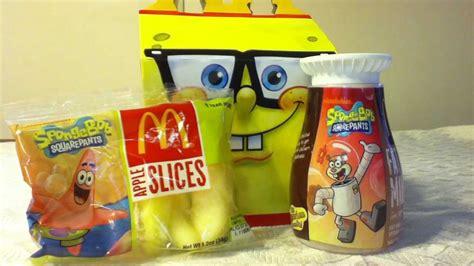 Mcdonalds Spongebob Toys Complete Set 2012