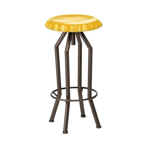 chaise italienne buy yellow bottle top style industrial bar stool from