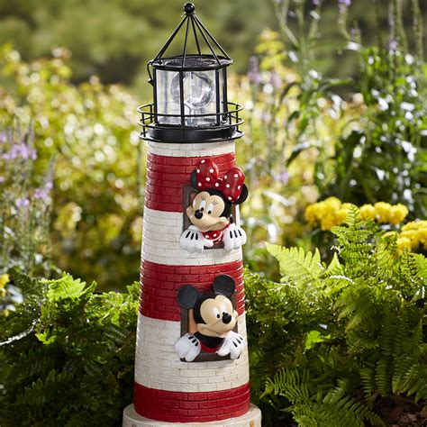 disney garden decor disney lighthouse mickey minnie outdoor living