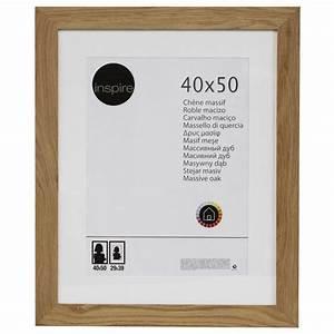 Aufbewahrungsbox 50 X 40 : cadre nakato 40 x 50 cm ch ne clair leroy merlin ~ Markanthonyermac.com Haus und Dekorationen