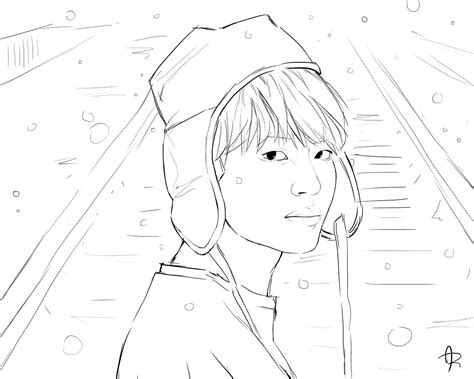 Bts Coloring Page