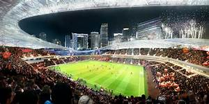 This Is The Soccer Stadium David Beckham Wants To Build At