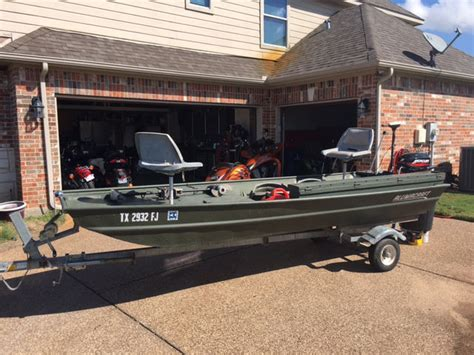 Jon Boat Storage Box Sale by Alumacraft 14 Jon Boat Mercury 9 9 Fourstroke Trailer