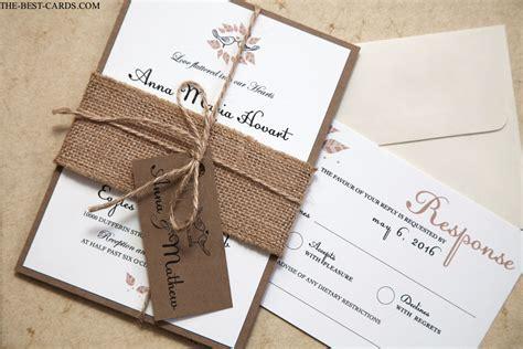 Rustic Wedding Invitations And Rustic Wedding Stationery Ideas