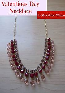 Valentines Day Necklace - My Girlish Whims