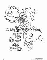 Coloring Hourglass Designlooter Heart Drawn sketch template