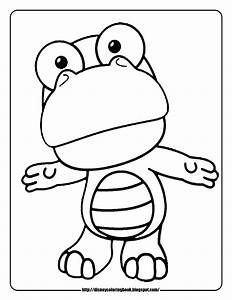 Baby Disney Cartoon Characters Coloring Pages Pororo The ...