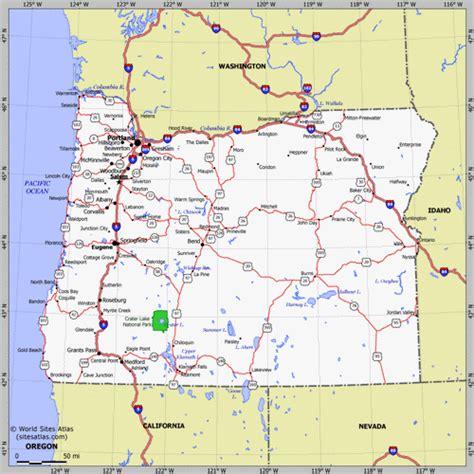 maps  oregon state