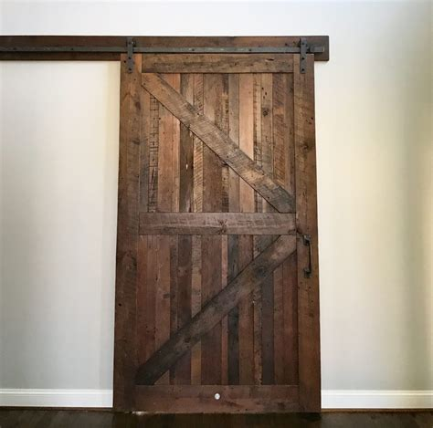 sliding door track reclaimed wood barn doors baltimore md sandtown millworks
