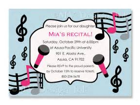 template free singing birthday cards as well as recital invitation musical birthday party invite
