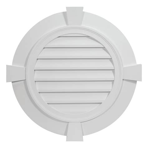 fypon ltd rlvftk round louver with flat trim and flat