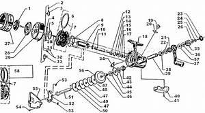 Abu Garcia 507 Parts List And Diagram