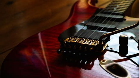 guitar macro  desktop wallpaper