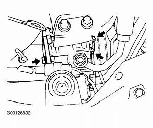 1992 Hyundai Excel Serpentine Belt Routing And Timing Belt